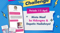 Happydent HappyNose Challenge Berhadiah Voucher Gopay Jutaan Rupiah