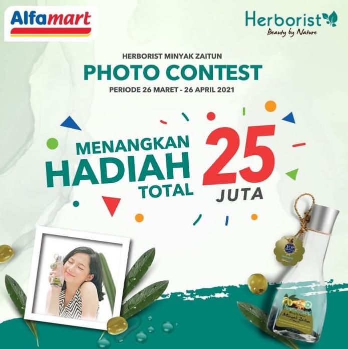 Kontes Foto Herborist Minyak Zaitun Berhadiah Total 25 Juta