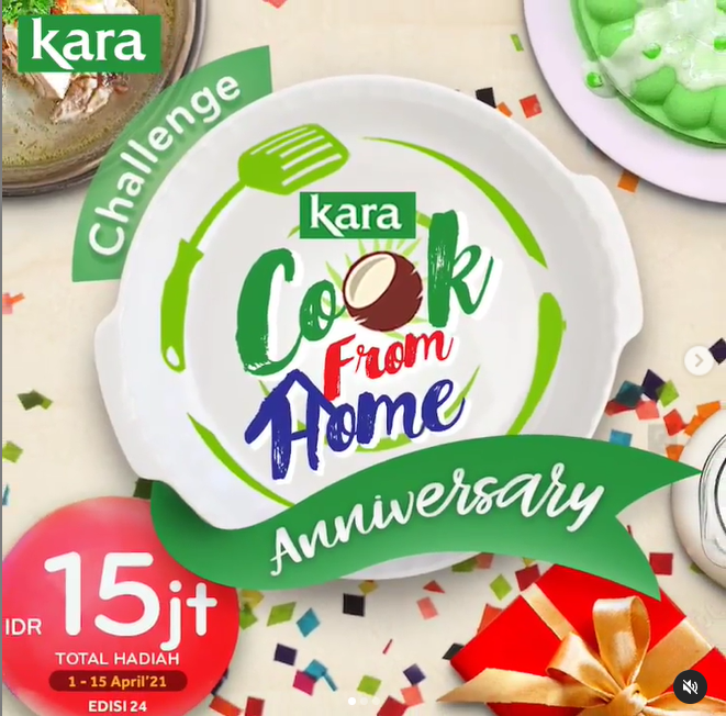 Lomba Masak Kara Cook From Home Anniversary Berhadiah Saldo Total 15 Juta