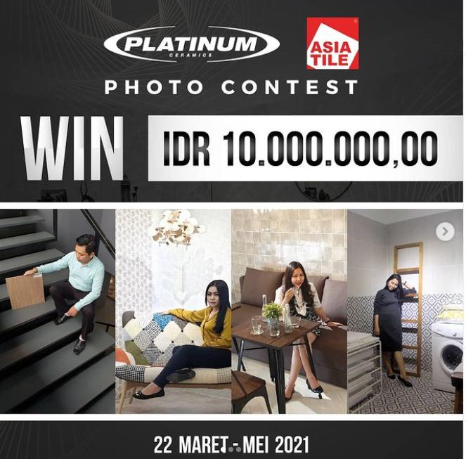 Kontes Foto Platinum Ceramics Berhadiah Total Rp 10 Juta