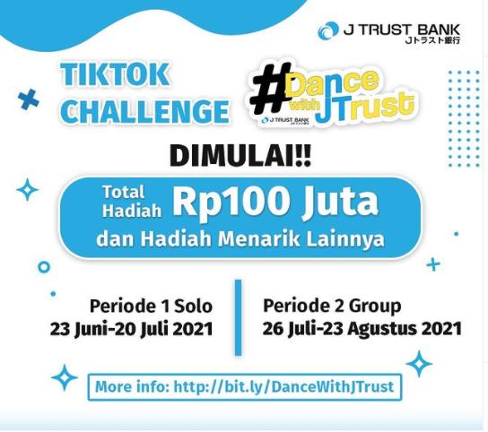 lomba video tiktok dance with Jtrust Bank