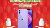 Tiktok challenge Maitos berhadiah iphone 12