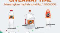 giveaway cleo berhadiah 1 juta