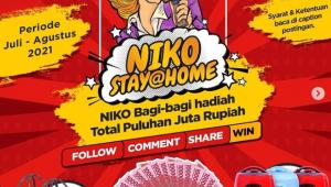 giveaway & kuis berhadiah Niko