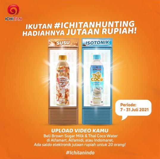 lomba video #IchitanHunting berhadiah 2 Juta