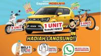 promo ichitan berhadiah mobil suzuki Ignis