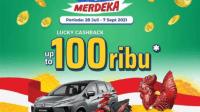 promo undian indomaret tiap hari rejeki merdeka berhadaiah mobil mitsubishi expander & Honda beat