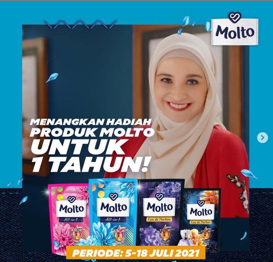 Tantangan berhadaih dari Molto