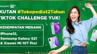 lomba video Tiktok Tokopedia 12 Tahun