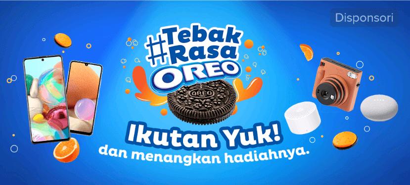 tiktok challenge Oreo Indonesia Berhadiah Hp